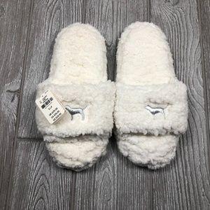 Slippers Sherpa Footwear House Shoe Slipper Slide